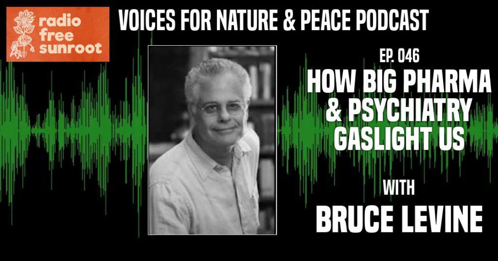 "Ep. 46: ""How Big Pharma & Psychiatry Gaslight Us"" feat. Bruce Levine"
